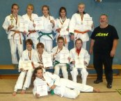 2. Platz U15w-Team