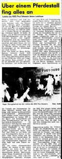 10 Jahre BSG Post Schwerin - Sektion Judo